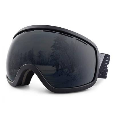 #6. Snowledge UV Protection Dual Spherical Cool Lens Snowboard Ski Snow Goggles for Men & Women