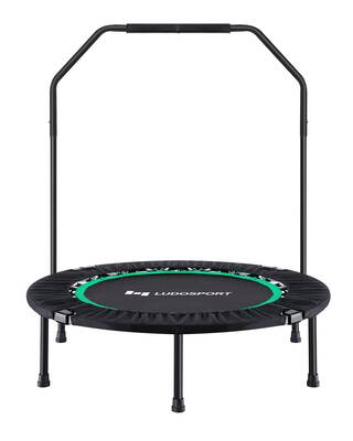 """#8. Ludosport 40"""" Max 300lbs Foldable Fitness Trampoline Rebounder for Adults Kids Workout"""