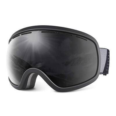 #3. HUBO SPORTS OTG Dual Lens Anti-Fog UV400 Protection Ski Snow Goggles for Adults & Teenagers