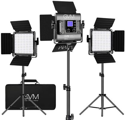 1. GVM Video Lighting Kit with APP Control