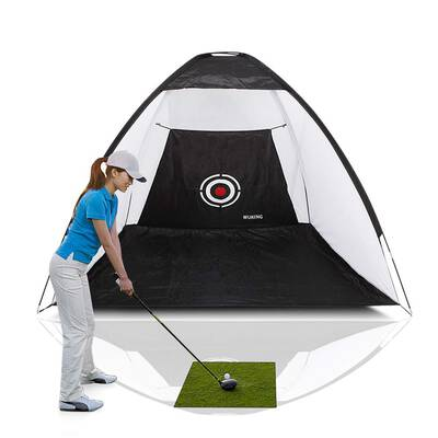 #5. WUKING Golf Net for Backyard Practice
