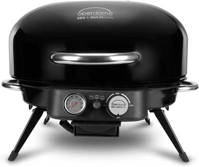 #6. Oberdome EZQ-4016B 3 Heat Combination Settings Electric BBQ for Outdoor Use