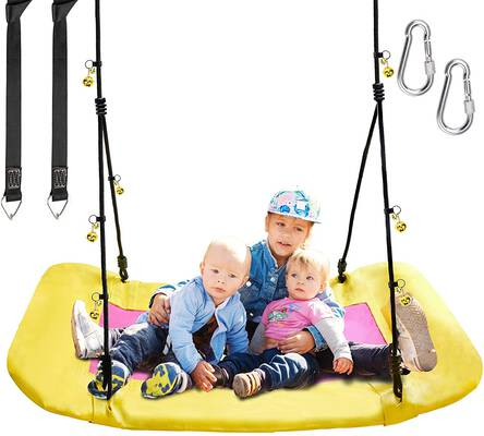 2. PACEARTH 660lbs ASTM-Certified Durable Safe Child Swing for Adults, Teens & Children