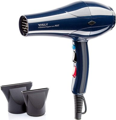 2. Rosily Ionic Ceramic Fast Drying Hair Blow Dryer with Nozzle Attachments