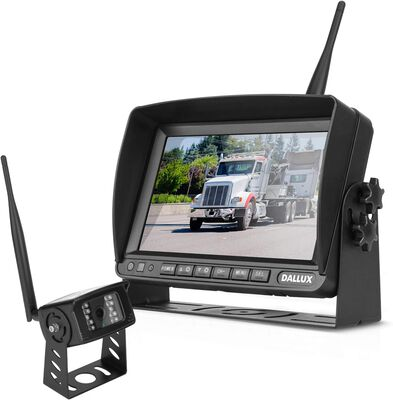 7. DALLUX IP69K Waterproof 1080P Stable Digital Wireless Backup Camera w/7Inch DVR Monitor