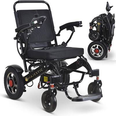 #1. Ephesus MS New Model Portable Mobility Electric Wheelchair