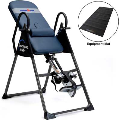 #5. IRONMAN Gravity AIRSOFT Ankle Holder Inversion Table Highest Weight Capacity