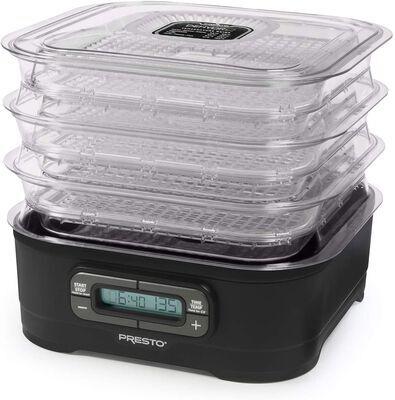 6. PRESTO Black Up to 12 Trays National Digital Dehydro Electric Food dehydrator Machine