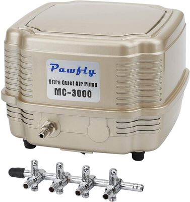 2. Pawfly 2 – 4 254 – 285 GPH Outdoor Commercial Manifold Quiet for Pond Outdoor Fishing
