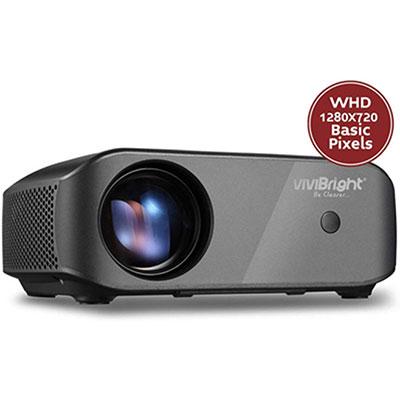 #6. VINIBRIGHT F10 Full HD 1080P Supported 2800 White Light Mini Projector