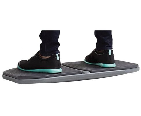 6. Gaiam Alleviate Stress & Fatigue Evolve Balance Board Trainer for Standing Desk