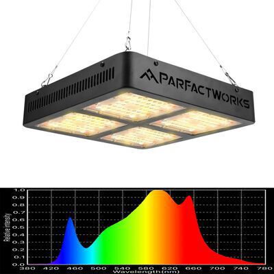 3. PARTFACTWORKS RA2000 Hydroponic Greenhouse Lighting Bulb Full Spectrum for Plant Flower