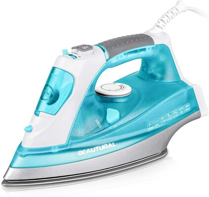 10. BEAUTURAL Anti-Drip Self-Cleaning 1800W Thermostat Dial Double Layered Steam Iron