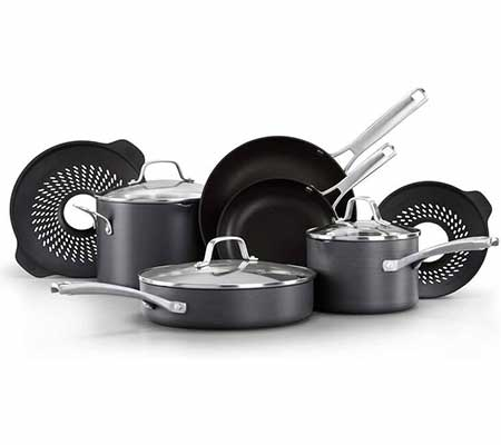 #7. Calphalon Classic Pots and Pans Set