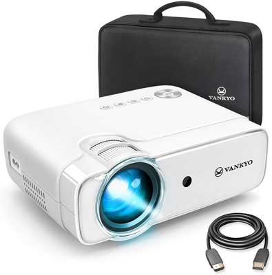 #8. VANKYO Leisure 3600 Lux Video Projector with 236 Inches Display & HiFi Built-in Speaker