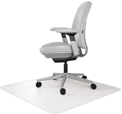 6. Resilia 30x48 Superior Floor Long-Lasting Durability Environmentally Friendly Office Desk Chair