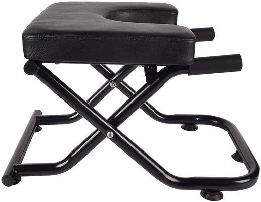 7. YU Yusing Pure Black Inversion Yoga Headstand Bench with Suction Cup for Leg Workouts