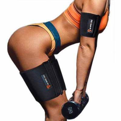 1. Fire Team Fit Adjustable Size Tight Grip Cellulite Arm & Thigh Trimmers for Men & Women