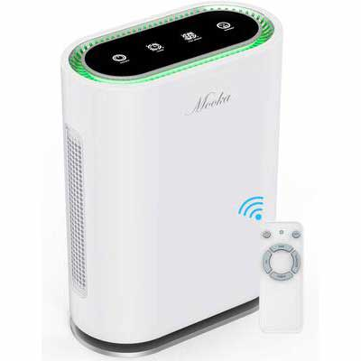 2. Mooka 6 Point Filtration Odor Eliminator Ionic & Sterilizer Air Cleaner for Large Room