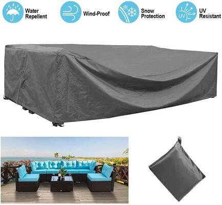 1. STARTWO 100% Waterproof Rectangular Outdoor Patio Furniture Large Furniture Cover