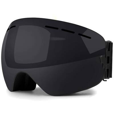 #7. Zerhunt OTG Interchangeable Lens UV Protection Snowboard Skate Ski Goggles for Men & Women