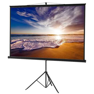 #1.Homeland Hardware 84 inch Delux Screens Portable Projector Screen