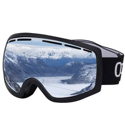 #1. Occffy OTG UV Protection HX001 Helmet Compatible Snowboard Ski Goggles for Adults & Youths