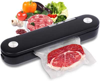 9. EOUAOYK Vacuum Sealer for Food, Portable and Automatic Air Sealing System, Easy to Clean