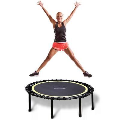 "#7. Newan 40"" – 48"" Silent Mini Trampoline Bungee Rebounder Max Limit 330lbs Jumping Trainer"