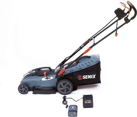 8. SENIX LPPX5- L Cordless Mower