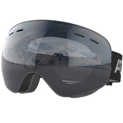 #9. ACURE SG01 OTG Snow UV400 Protection Dual Lens Anti-Fog Ski Goggles for Women Men & Youth