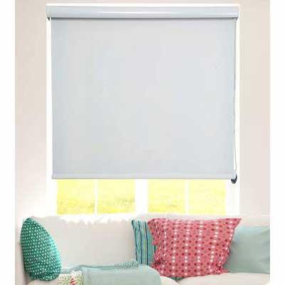 2. ShadesU Ecru Color 72inch Cut-Size Custom Darkening & Light Filtering Window Roller Blinds