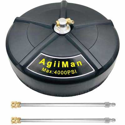 6. AgiiMan 4000 PSI 16Inch Power Washer Attachment 15'' Gas Pressure Washer Surface Cleaner