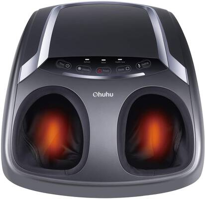 #8. Ohuhu Shiatsu Deep Kneading Therapy Foot Massager