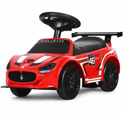 #4. Costzon Kids 4-Wheel Structure Ride on Car for Outdoor and Indoor