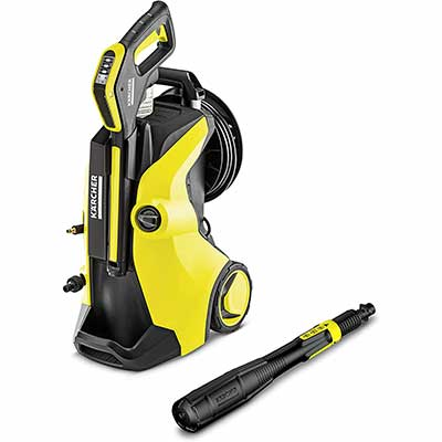 4. Karcher Electric Pressure Washer, yellow