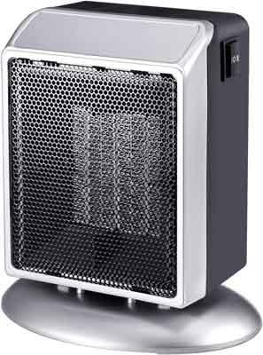 #10. Slotal 400W/900W Premium Quiet Electric Ceramic Portable Space Heater
