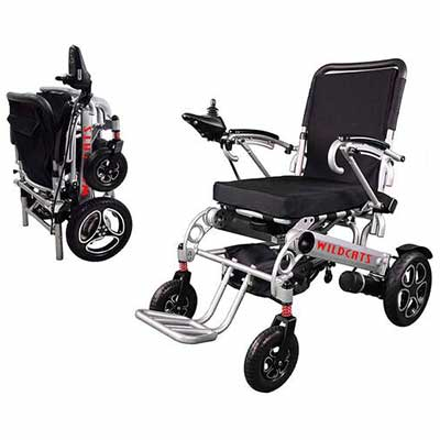 #7. ComfuGo Tobicon Extreme Sport Portable Motorized Electric Power Wheelchair