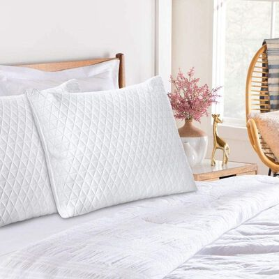 3. INGALIK Memory Foam Pillow- Queen Size