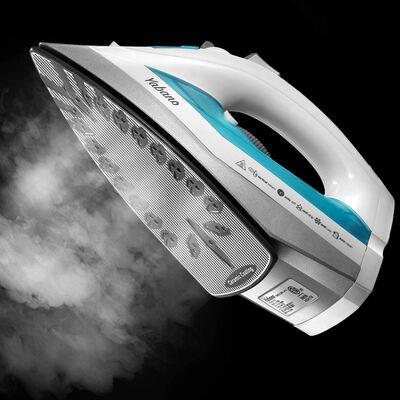 9. YABANO Lightweight Anti-Drip Professional Large Water Tank Steam Iron (Teal)