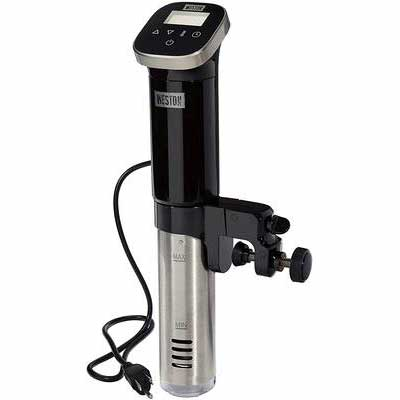 4. WESTON 36200 800W Black Digital Controls & Display Sous Vide Immersion Circulator