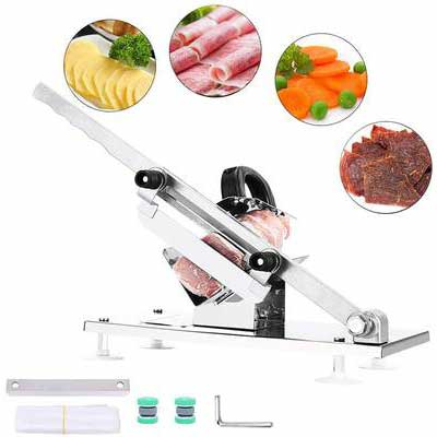 9. Aiky Manual Frozen Meat Slicer