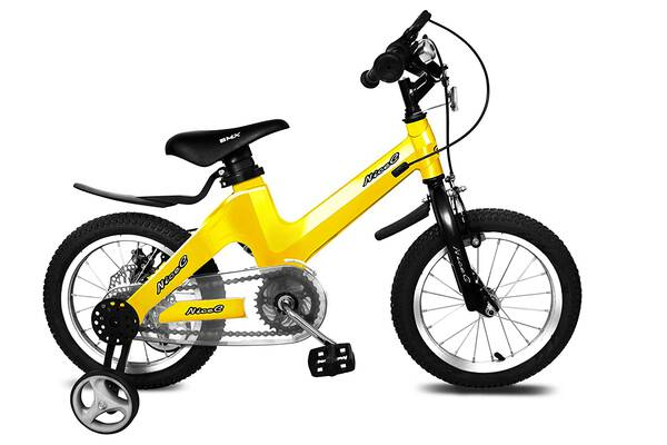 #5. Nice C BMX Boy and Girl Bike with Training Wheels and Dual Disc Brake