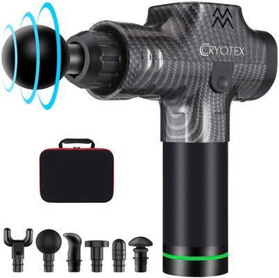#10. Cryotex Massage Handheld Percussion Gun