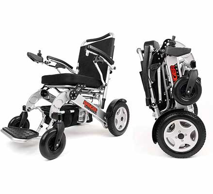 #9. Porto Mobility Ranger Quattro Ultra Exclusive Electric Wheelchair