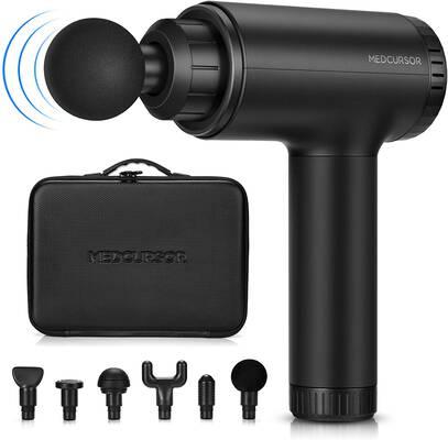 #6. Medcursor Handheld Percussion Massage Gun