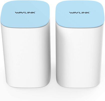 8. WAVLINK 2 Pack AC3000 Router Replacement 2000 Sq. Ft Tri-Band Wi-Fi Whole Home System