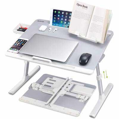 #3. NEARPOW XXL Laptop Bed Desk