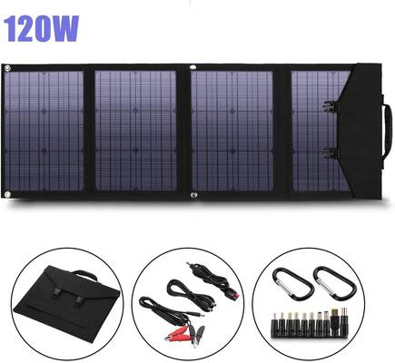 5. Unermo 120W Foldable Solar Panel Charger Power Station Generator & Laptop Tablet GPS