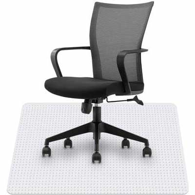 4. HST ¼Inch Thick 36x48 Low Pile Glide Studded Carpet Chair Mat Suitable for Home & Office